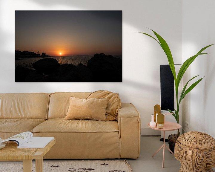 Sfeerimpressie: Zonsondergang van Yana Koolen