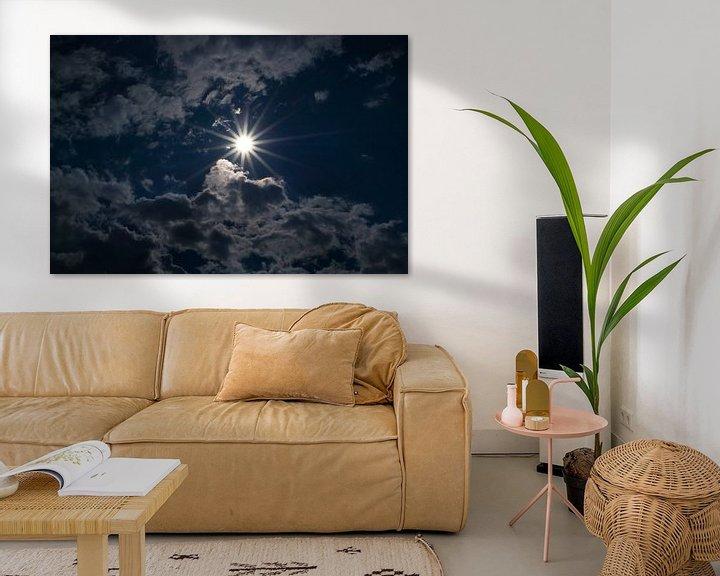 Sfeerimpressie: Achter de wolken schijnt de zon van Ratna Bosch