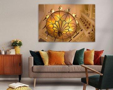 oosterse lamp, in mall of dubai, van Karijn | Fine art Natuur en Reis Fotografie
