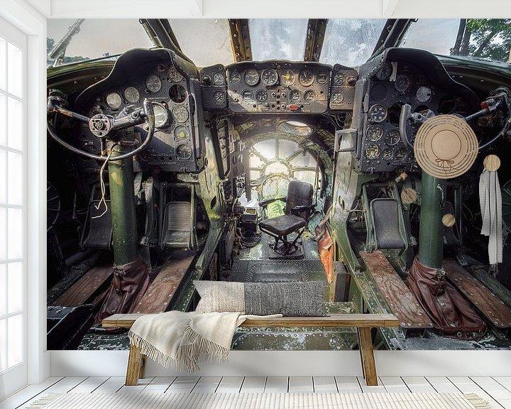 Beispiel fototapete: Flugzeug von Kristof Ven