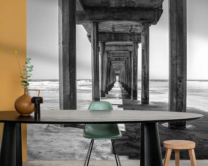 Sfeerimpressie behang: Bewegende schaduwen van Joris Pannemans - Loris Photography