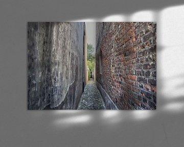 Enge Straße in Middelburg von Mariska Wondergem