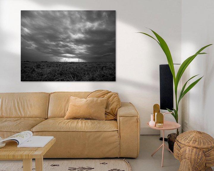 Beispiel: Dunkle Wolken von Martijn Tilroe