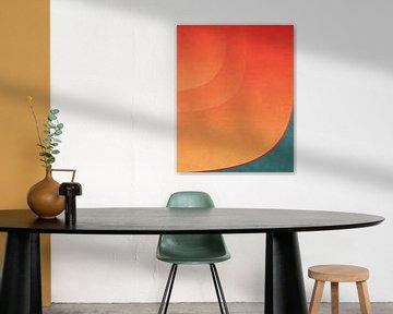 Abstracte samenstelling 1030 van Angel Estevez