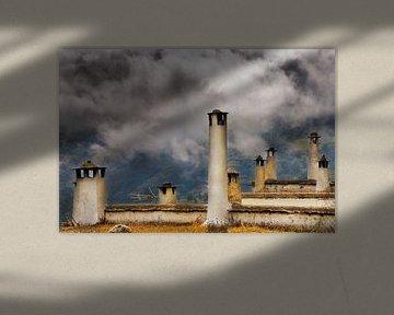 Schoorstenen/chimneys von Harrie Muis