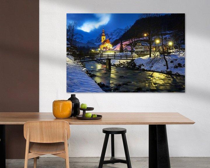 Sfeerimpressie: Ramsau Malerwinkel (Berchtesgadener Land) van Frank Herrmann