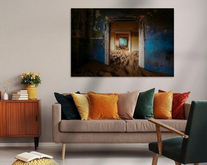 Beispiel: Der blaue Raum von Joris Pannemans - Loris Photography