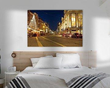 Die Rokin in Amsterdam bei Nacht von Nisangha Masselink