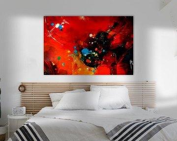 Farbexplosion Nr. 3 von Claudia Neubauer