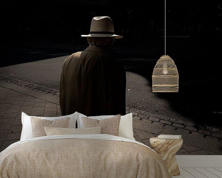 Sfeerimpressie behang: Hamburg Hat van Peter Nijsen