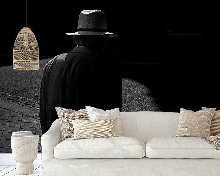 Sfeerimpressie behang: Hamburg Hat Fomapan film van Peter Nijsen