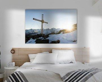 Kruis op de top van Nathan Marcusse