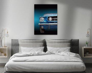 Voiture américaine classique Mustang 1965 décapotable sur Beate Gube