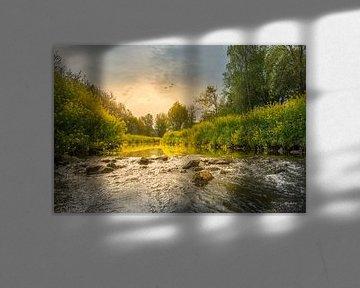 Sonnenaufgang an den Stromschnellen von John van de Gazelle