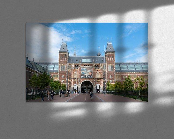 Sfeerimpressie: Rijksmuseum Amsterdam van Ivo de Rooij