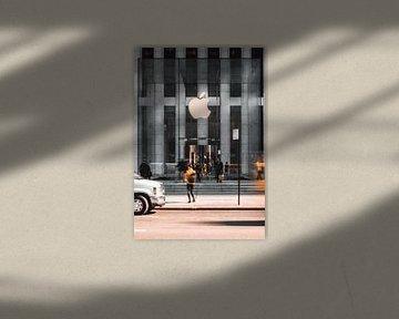 Apple Store sur la 5e avenue. sur Laurenz Heymann