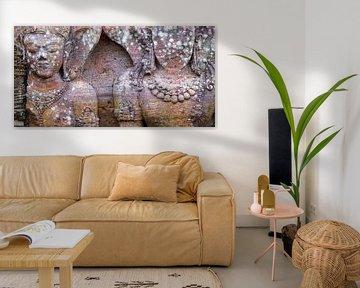 Fragment des Sonnentempels von Konarak von Affect Fotografie