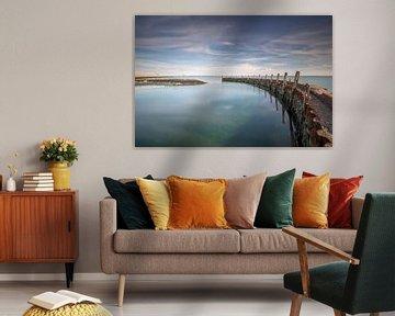 Flaauwershaven van Silvia Thiel