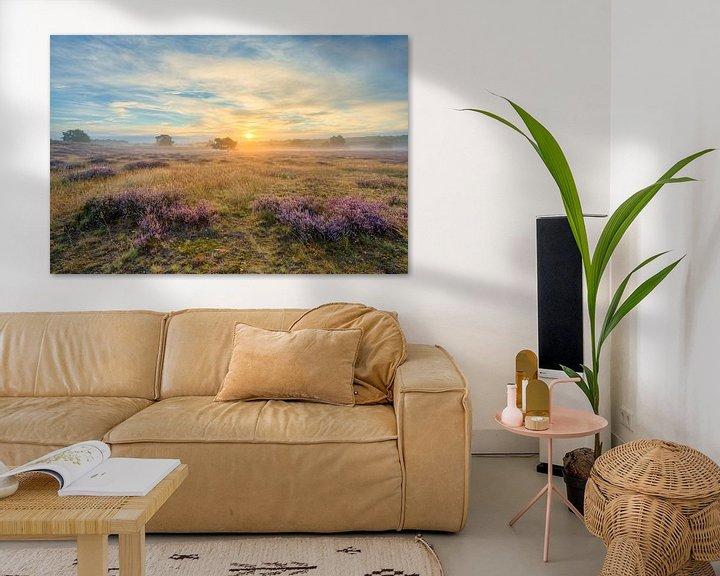 Beispiel: Sonnenaufgang in der Westruper Heide von Michael Valjak
