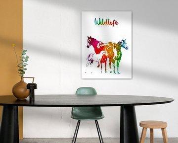Pferde von Printed Artings