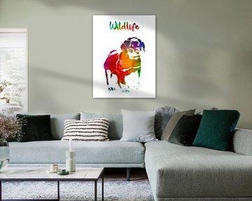 Hund von Printed Artings