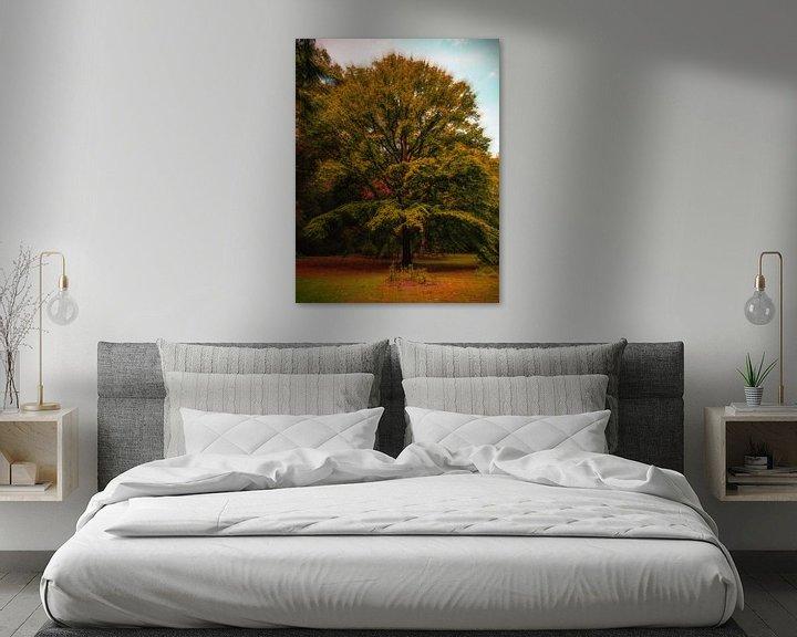 Sfeerimpressie: Stralende boom van Wieland Teixeira