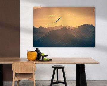 Sunset Bird von Alexander Dorn