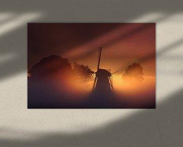Molen de Puollen van Karin de Boer Photography