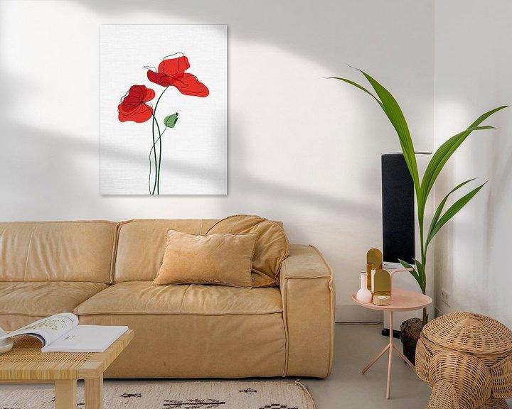 Beispiel: Mohnblumen von Color Square