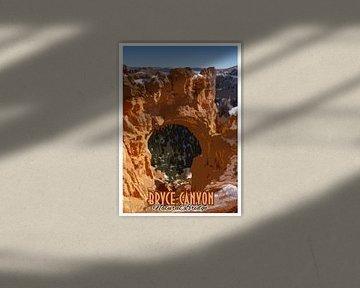 Bryce Canyon, Natural Bridge, Utah, Amerika van Discover Dutch Nature