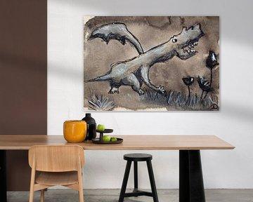 Muster Tinte Pastell 3 von Samantha Dekker