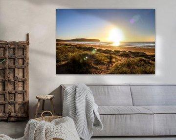 Zonsopkomst op het strand in Australië van Ginkgo Fotografie