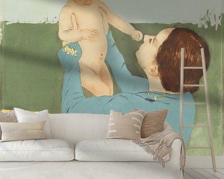 Beispiel fototapete: Unter der Rosskastanie, Mary Cassatt