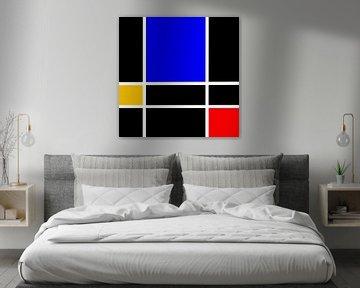 Rood Blauw Geel van Maurice Dawson