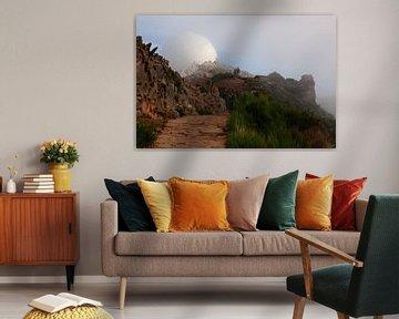 Pico do Arieiro - Surrealistische radar installatie van BHotography
