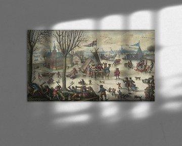 Winterlandschaft mit Figuren, Jan Berents