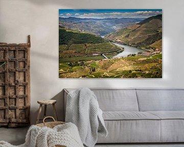 Douro rivier van Antwan Janssen