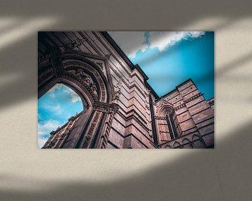 Kerk in Siena van Leon Weggelaar
