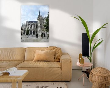 Kathedrale von Evreux von Celine Seelemann