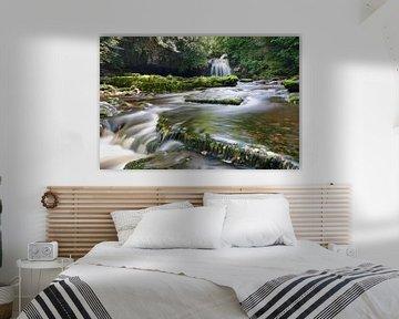 Westburton Falls, Yorkshire, England von Markus Lange