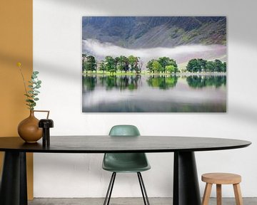 Nebelschwaden über Lake Buttermere, Lake District, von Markus Lange