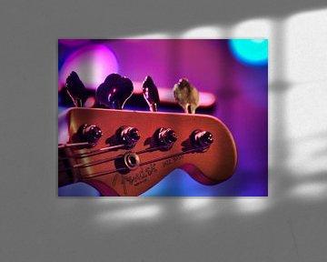 Fender-Bassgitarre von Patrick vdf. van der Heijden