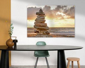 Stenen toren in het zonlicht van Kirsten Warner