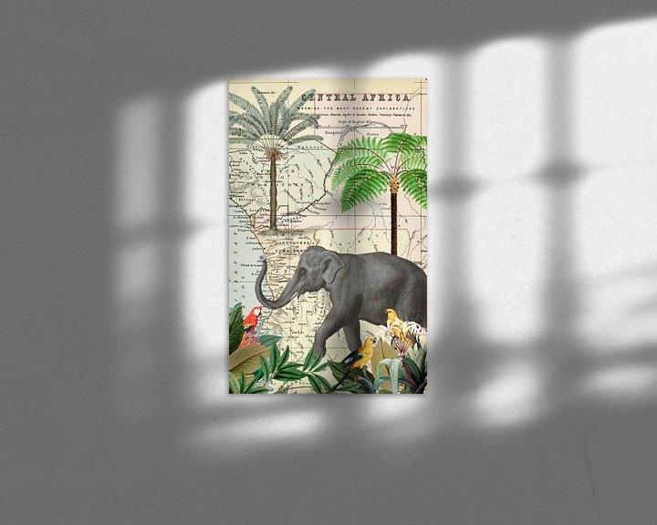 Beispiel: Elefant In Afrika von Andrea Haase