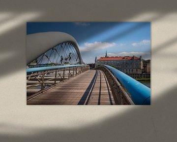 Brücke in Krakau von Antwan Janssen