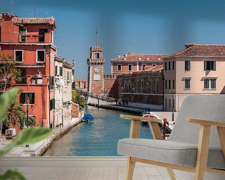Sfeerimpressie behang: Venice (Venetie) van Brian Morgan