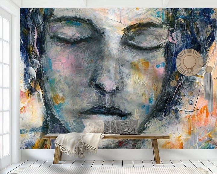 Sfeerimpressie behang: Marie van Flow Painting