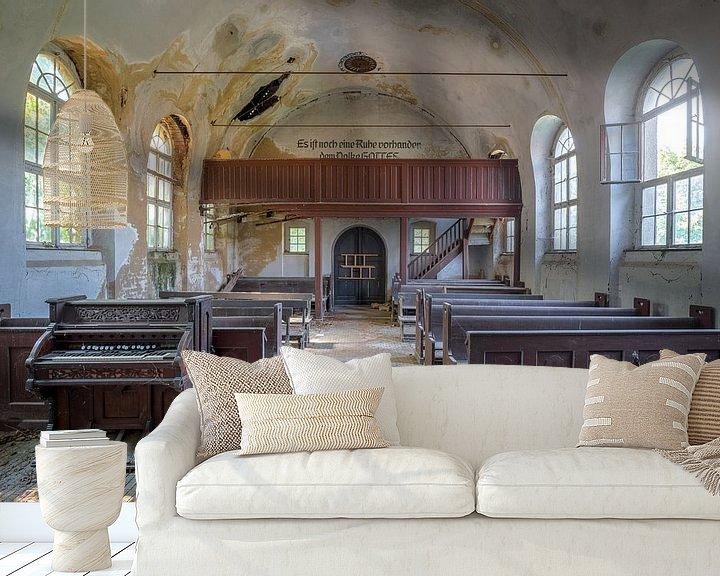 Beispiel fototapete: Kapelle im Niedergang von Kristof Ven