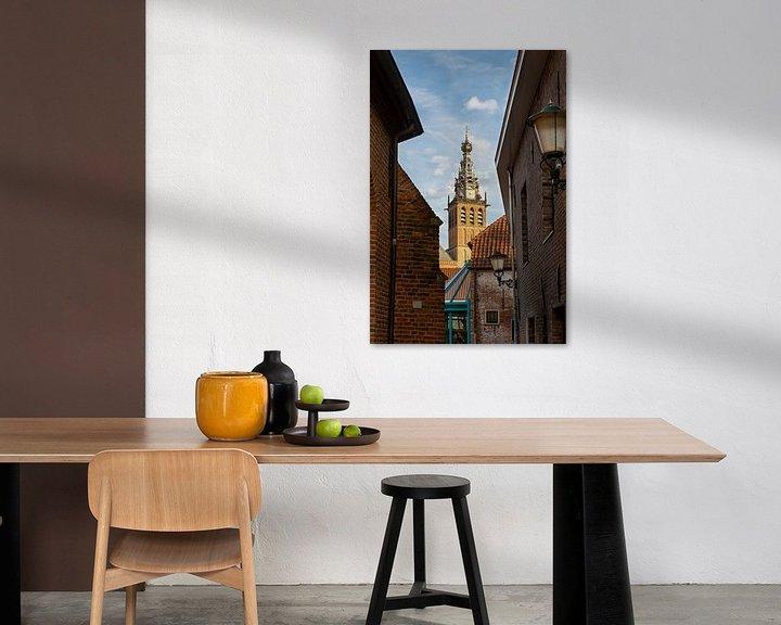 Sfeerimpressie: Doorkijkje naar de Stevenskerk Nijmegen van Maerten Prins