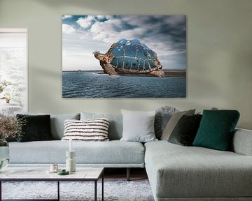 Carrying water in turtle jars von Elianne van Turennout